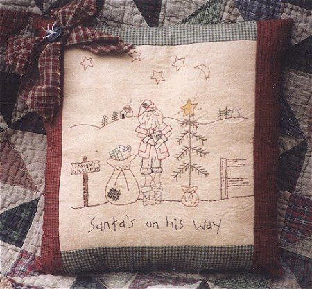 #126 Santa is on his way e pattern