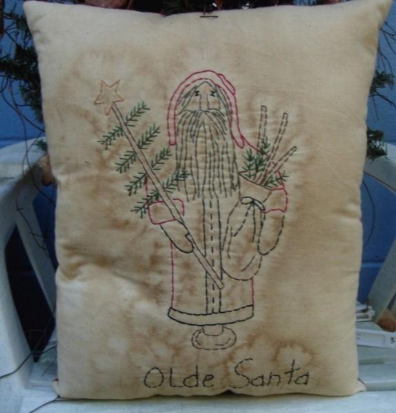 #399 Olde Santa e pattern