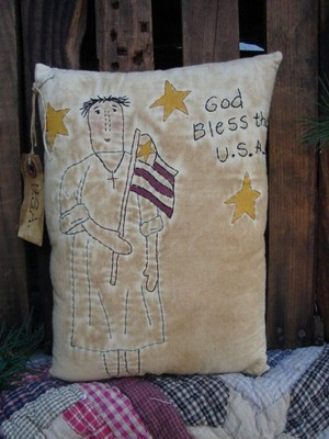 #378 God Bless the USA E Pattern
