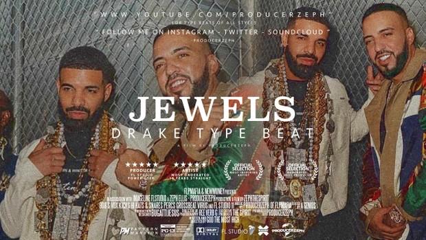 Drake Type Beat - Jewels - Trap Instrumental | Prod By @ProducerZeph