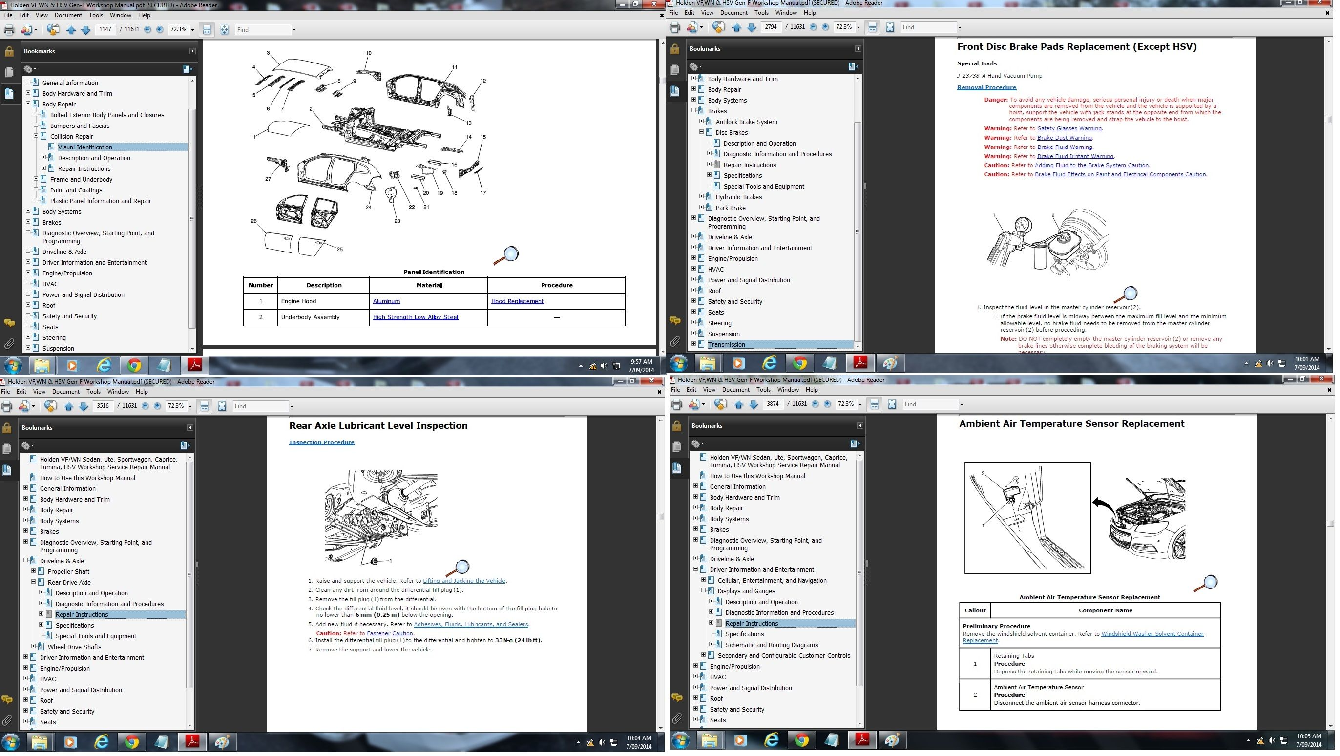 holden vf wn sedan ute sportwagon caprice hsv wor rh sellfy com commodore vz workshop manual free download holden vx workshop manual pdf