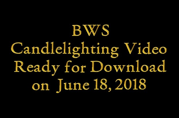 BWS Candlelighting 2018 HD Digital Download Video