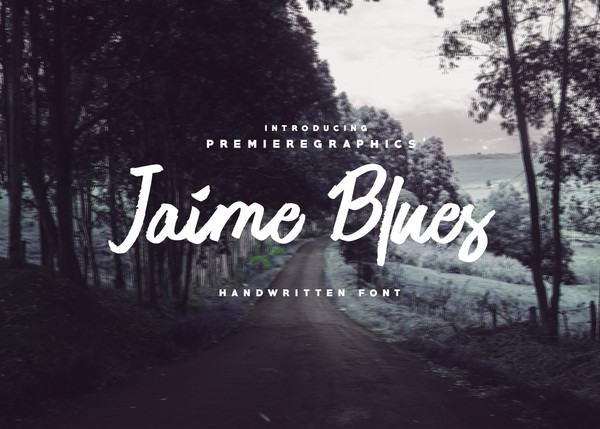 Jaime Blues Free Handwritten Font