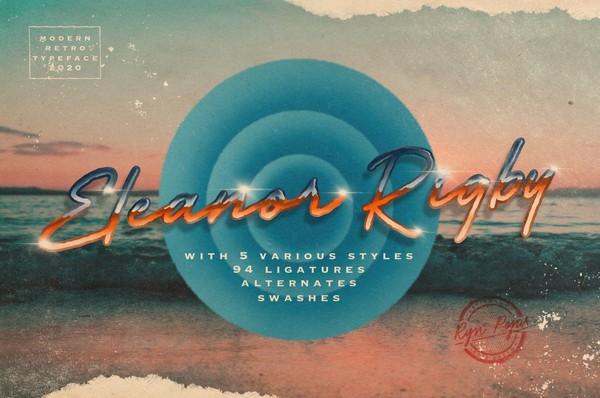 Eleanor Rigby | Retro Modern Script