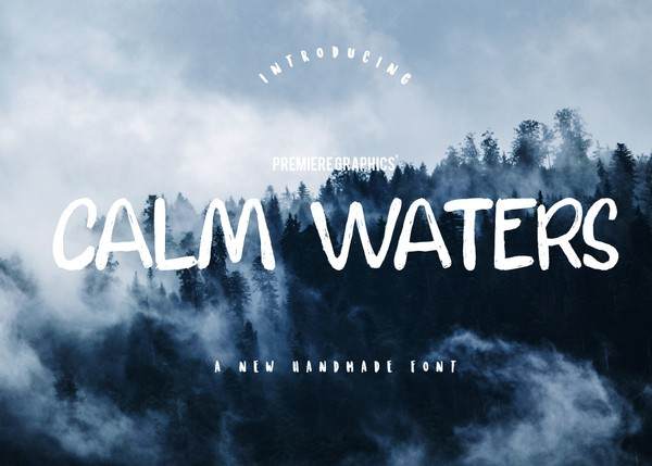 Calm Waters Font