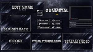 Gunmetal: Full Stream Package