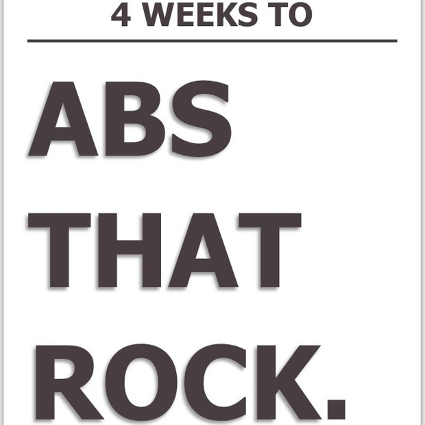 4 Weeks to Abs that Rock