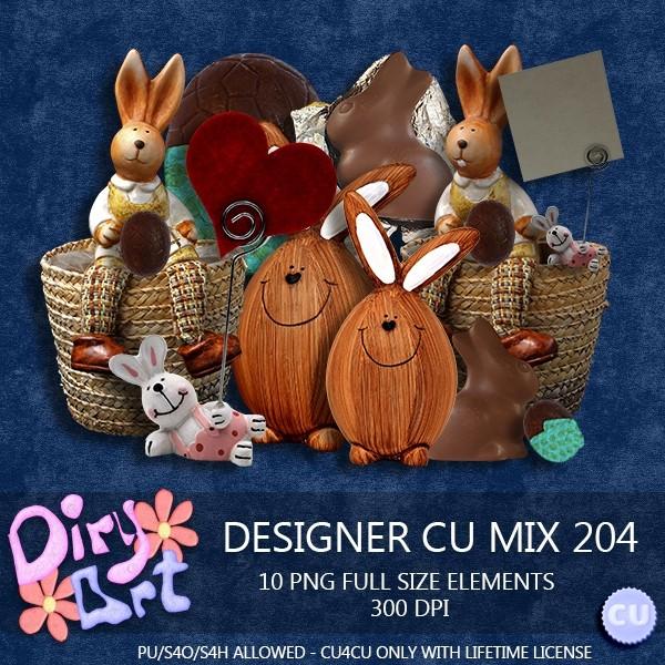 Designer CU Mix 204