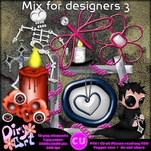 Mix for Designers 3