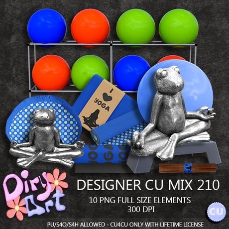 Designer CU Mix 210