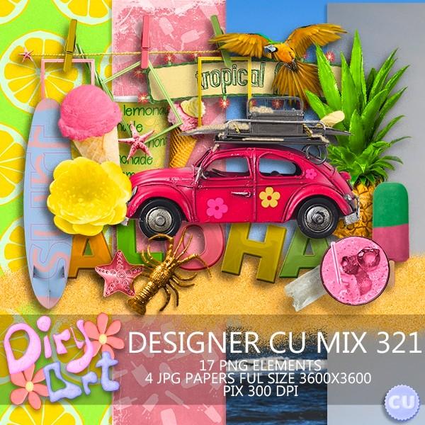 Designer CU Mix 321