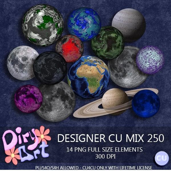 Designer CU Mix 250