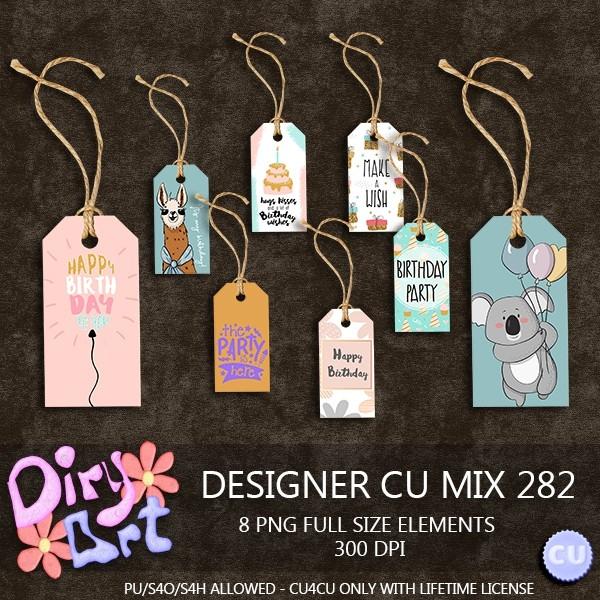 Designer CU Mix 282