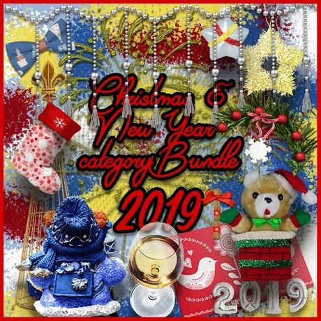Christmas & New Year 2019 category Bundle