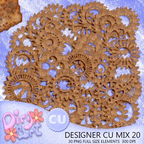 Designer CU Mix 20
