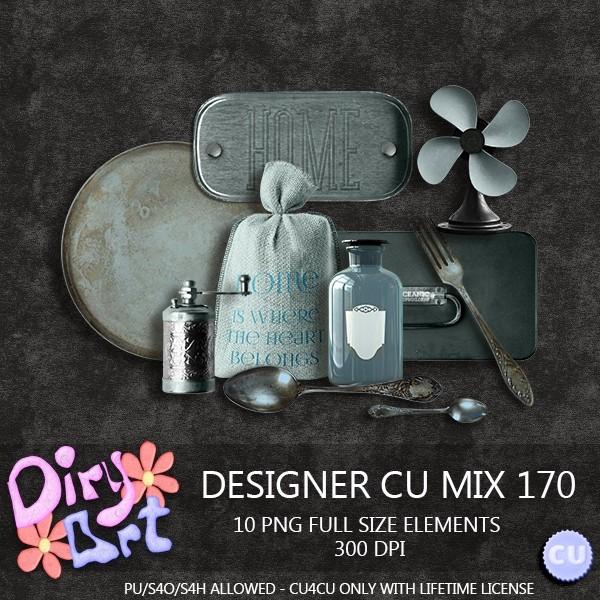 Designer CU Mix 170