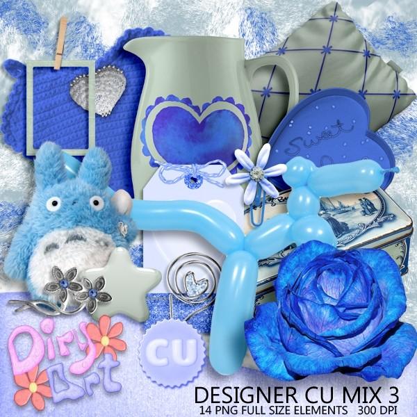 Designer CU Mix 3