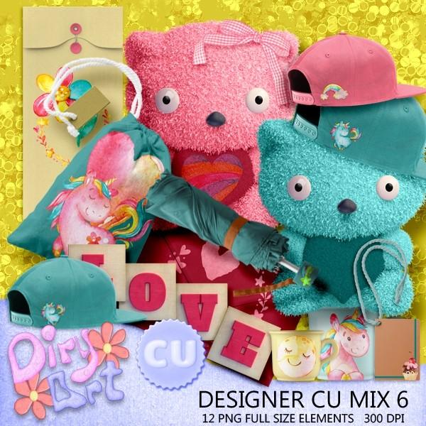 Designer CU Mix 6