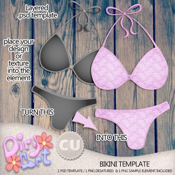 Bikini Template