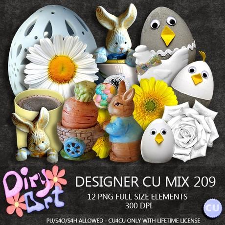 Designer CU Mix 209