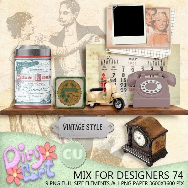 Mix for Designers 74