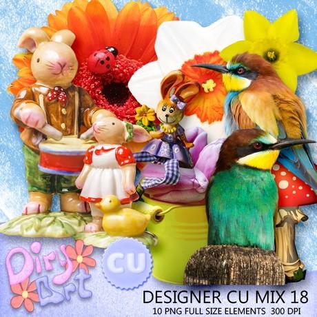 Designer CU Mix 18