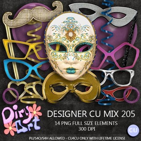 Designer CU Mix 205