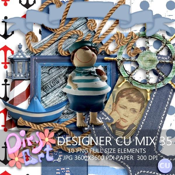 Designer CU Mix 35