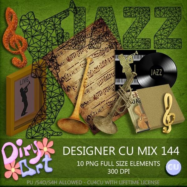 Designer CU Mix 144