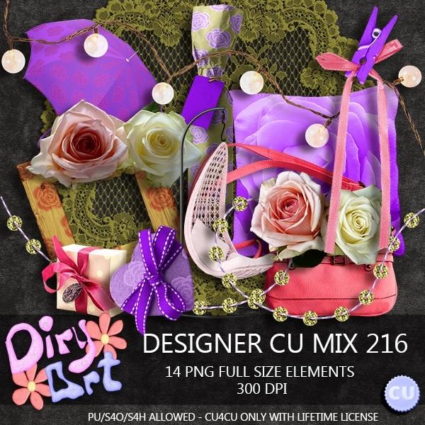 Designer CU Mix 216