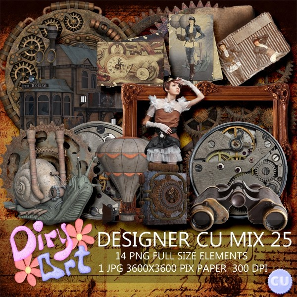 Designer CU Mix 25