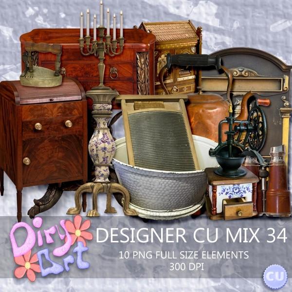 Designer CU Mix 34