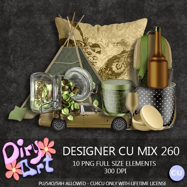 Designer CU Mix 260