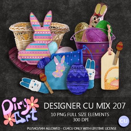 Designer CU Mix 207