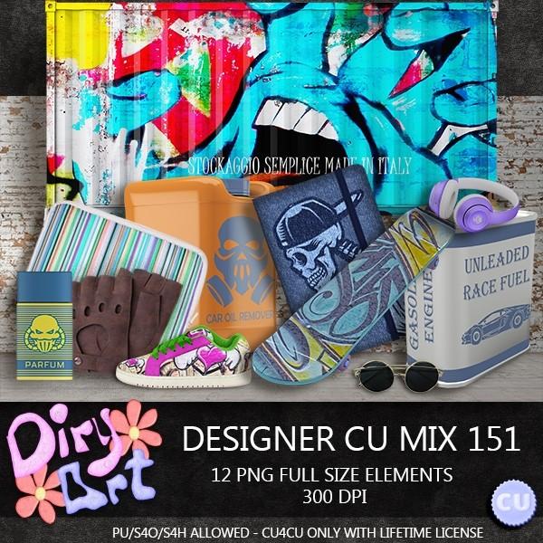 Designer CU Mix 151