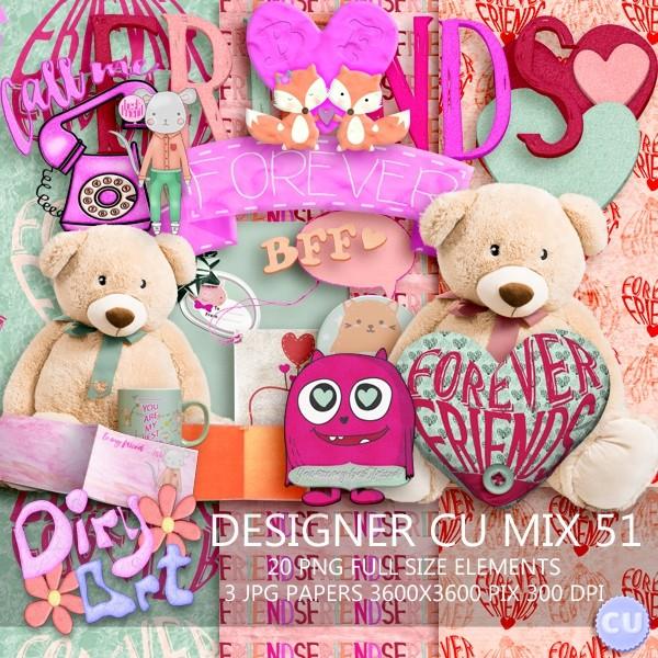 Designer CU Mix 51
