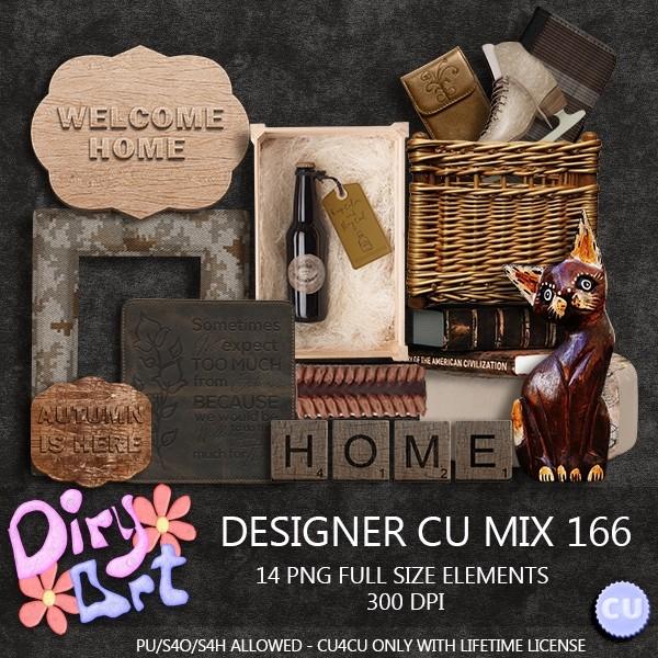 Designer CU Mix 166