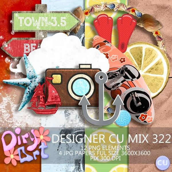 Designer CU Mix 322