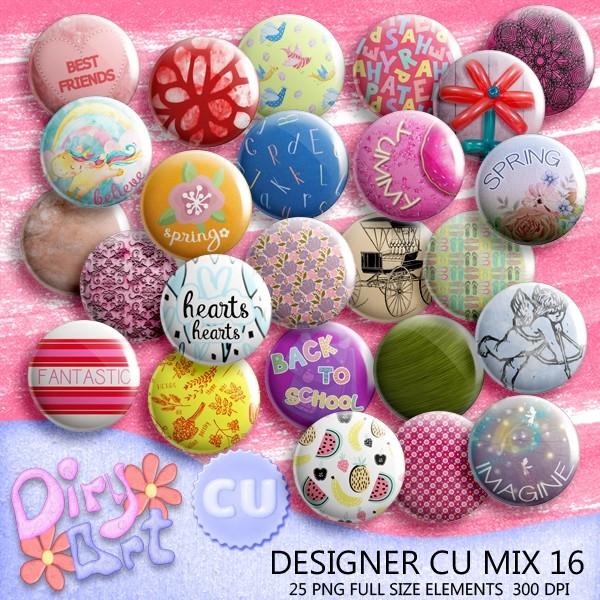 Designer CU Mix 16
