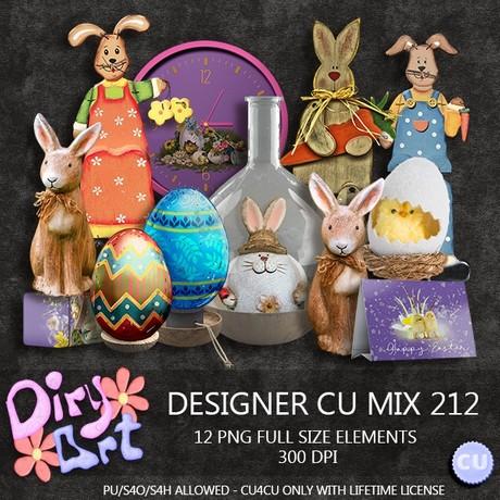 Designer CU Mix 212