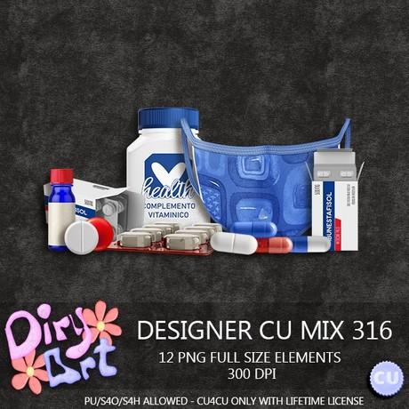 Designer CU Mix 316