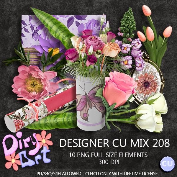 Designer CU Mix 208