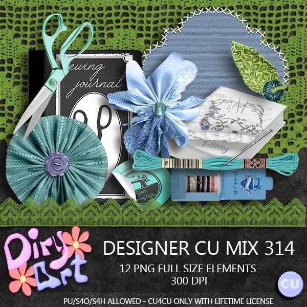 Designer CU Mix 314