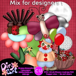 Mix for Designers 1