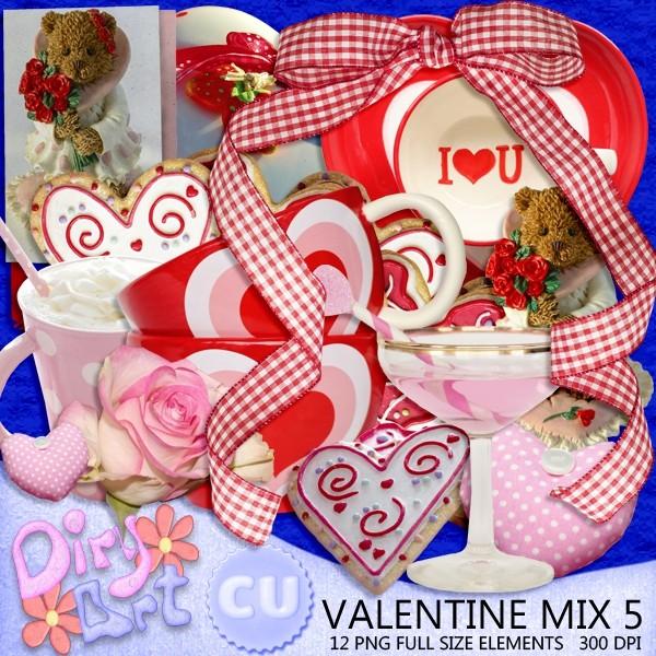 Valentine Mix 5