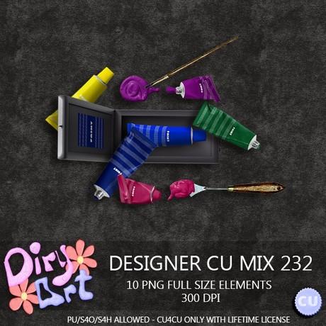 Designer CU Mix 232