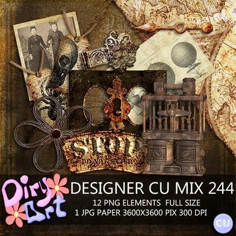 Designer CU Mix 244