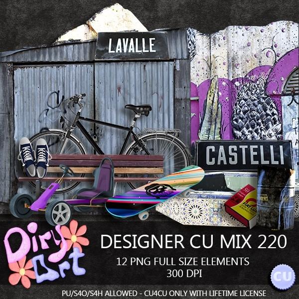 Designer CU Mix 220