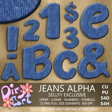 Jeans Alpha - Exclusive