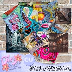 * Graffiti Backgrounds *